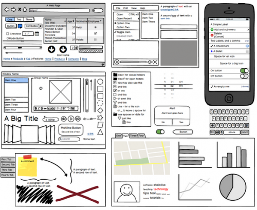Balsamiq screenshot.