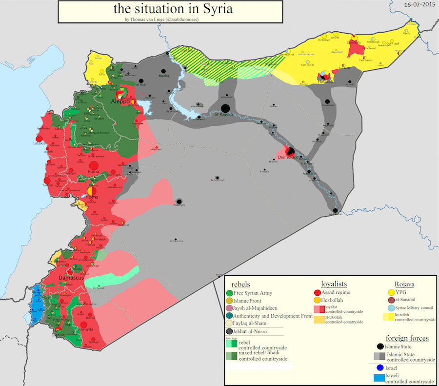 Crowdsourcing maps of ISIS and other Middle East conflicts - Storybench