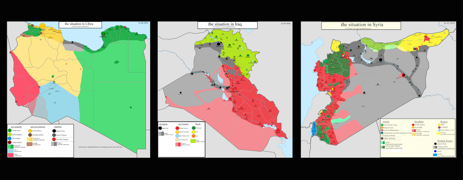 Thomas Van Linge.Crowdsourcing Maps Of Isis And Other Middle East Conflicts