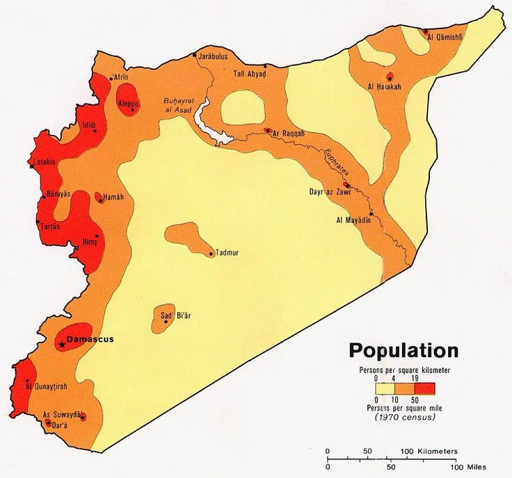 Fig. 4. Map of Syrian population density @a_e_a_p