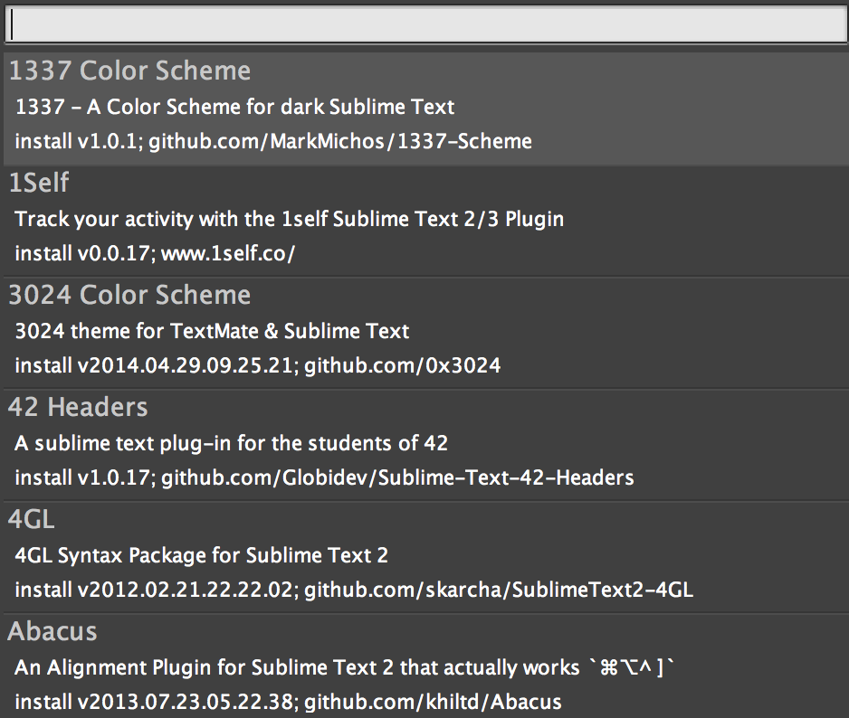 how to open package control sublime text 3