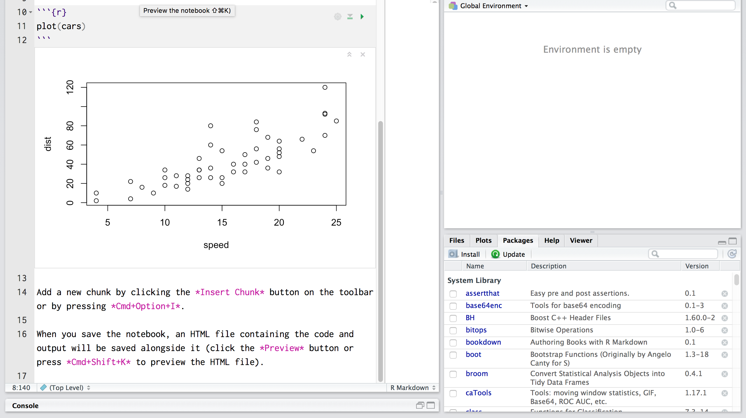 Getting Started With R in RStudio Notebooks - Storybench