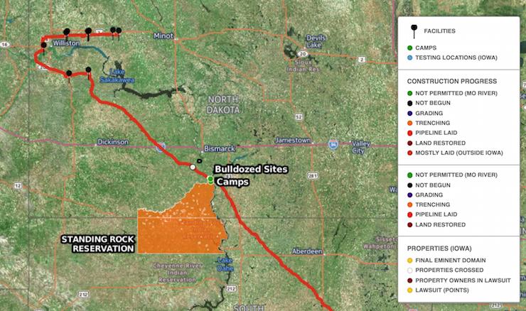 Dakota Access Pipeline Iowa Map.Contextualizing The Dakota Access Pipeline A Roundup Of