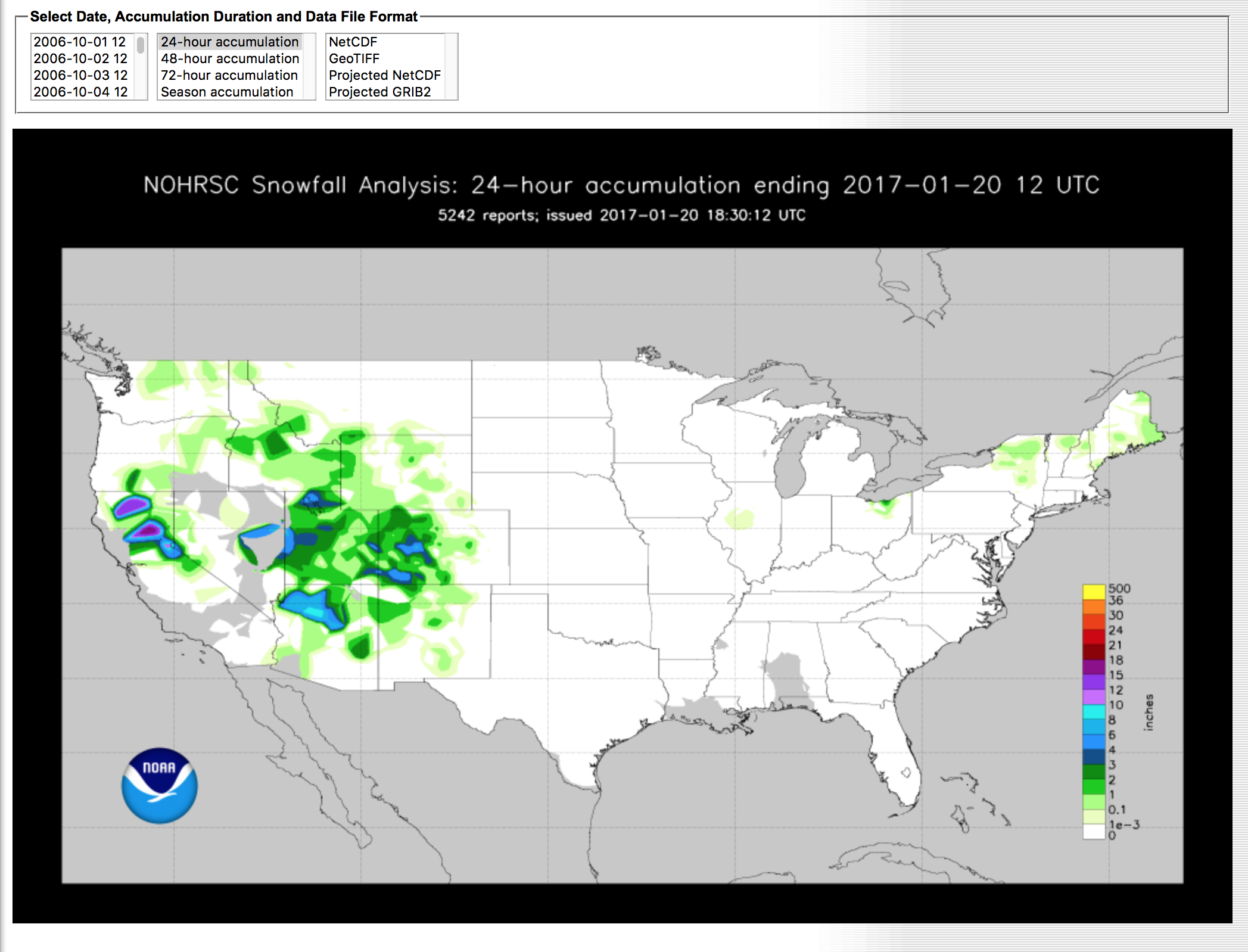 Winter is here: How Vox mapped snow accumulation in the U S