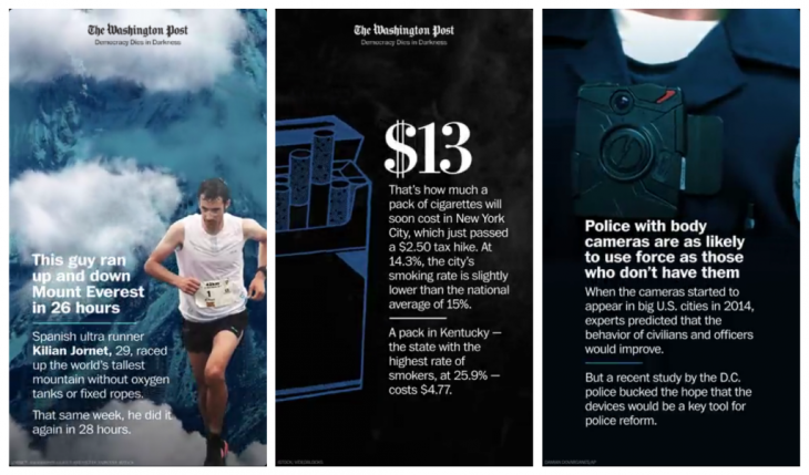 a1242c7b5b How The Washington Post designs its Snapchat stories - Storybench