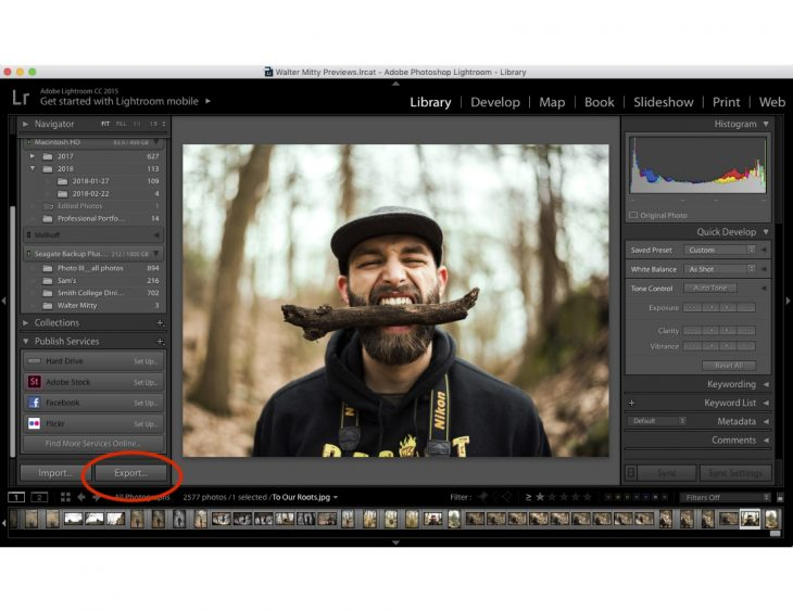 How to export photos from Lightroom - Storybench