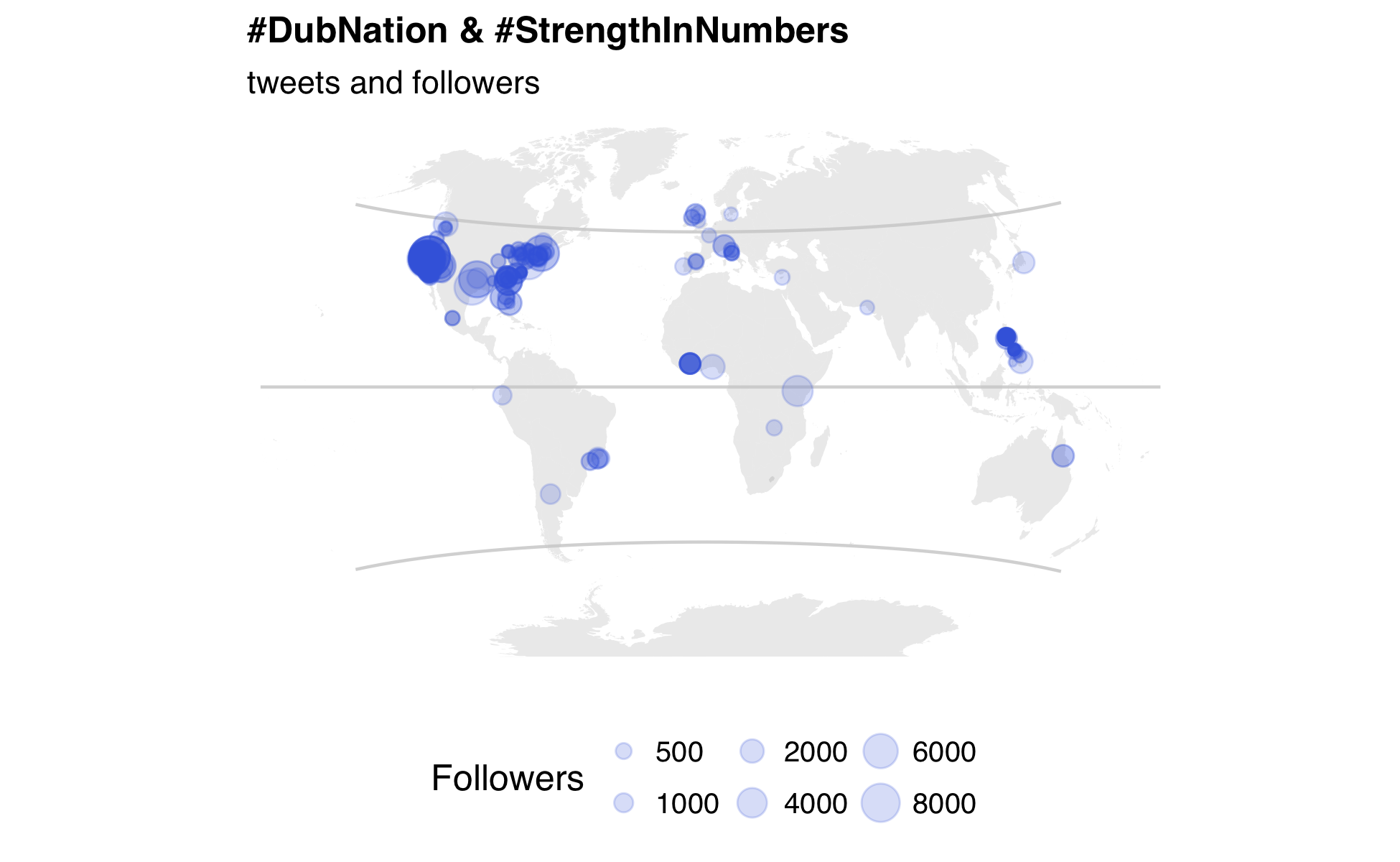 How to build an animated map of tweets about the NBA finals in R