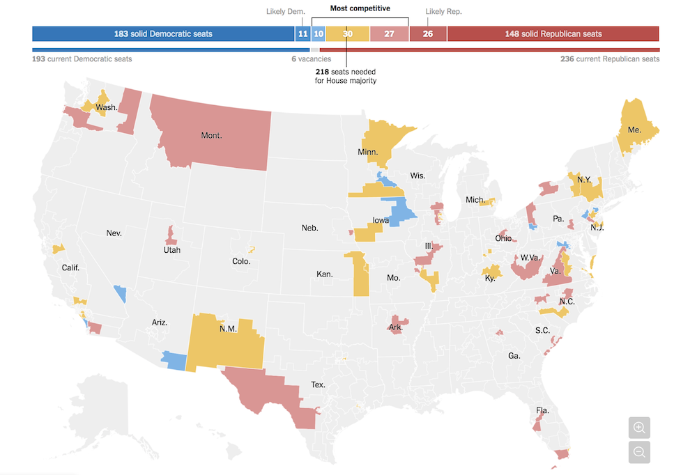 A Dozen Ways The Midterm Elections Are Being Visualized Storybench