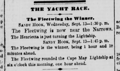 New York Daily Tribune, Sep 14, 1865. U.S. Library of Congress.