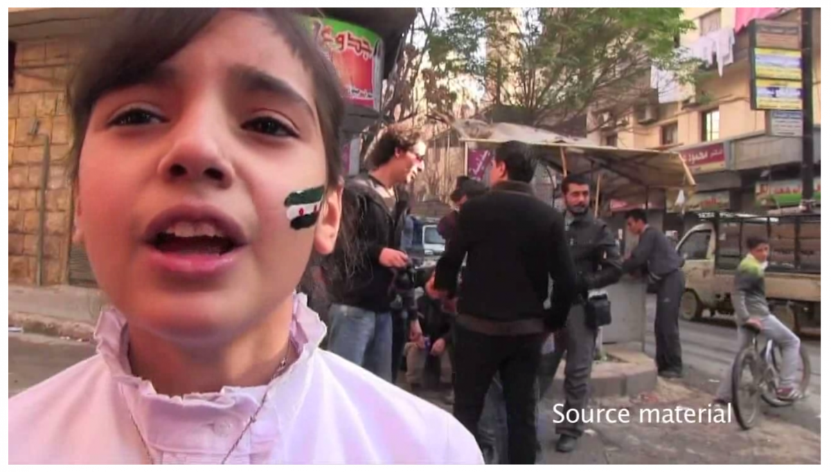 "A still from ""Project Syria."" Click to see a video excerpt. Credit: Nonny de la Peña."