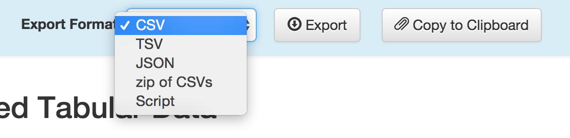 export-format