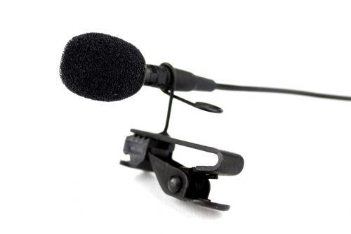 A RØDE Lavalier mic.