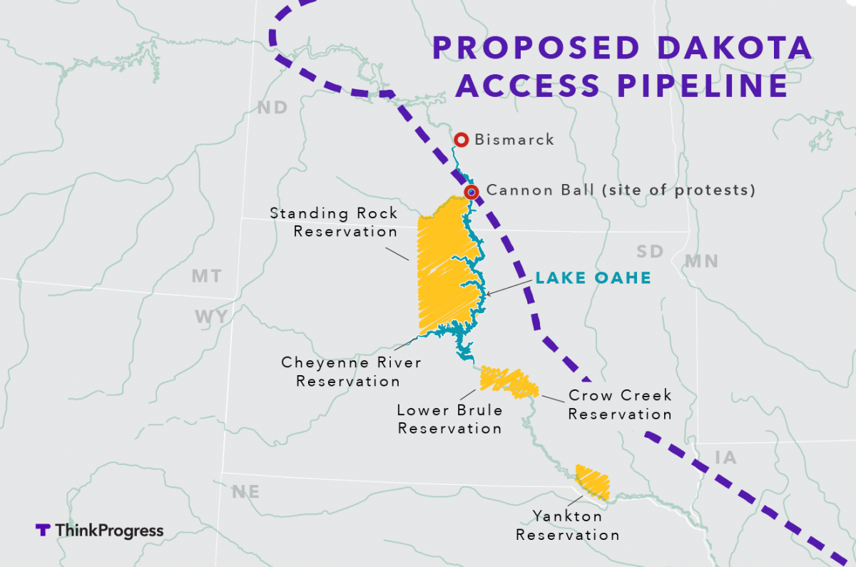 Image result for DAPL map