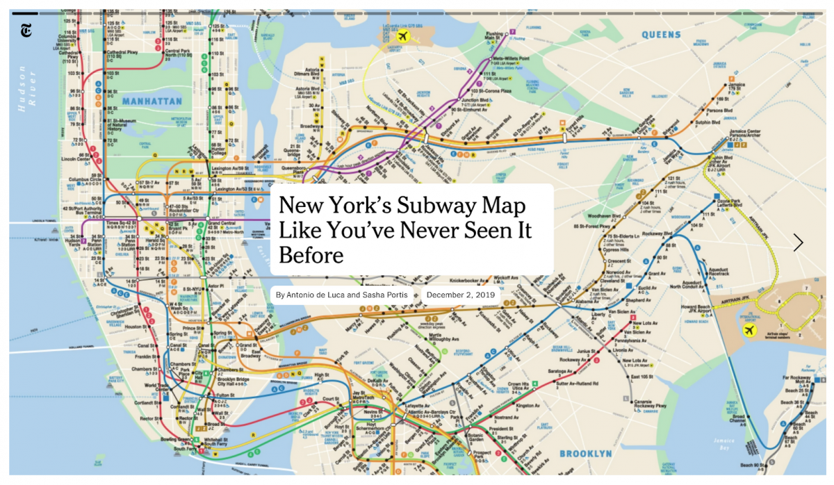 Map Of The New York Subway.How The New York Times Broke Down The History Of The Nyc Subway Map Storybench