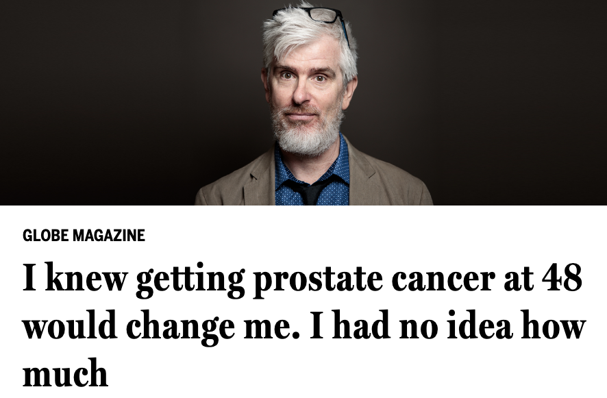 How the Boston Globe's Mark Shanahan made a podcast about his battle with prostate cancer